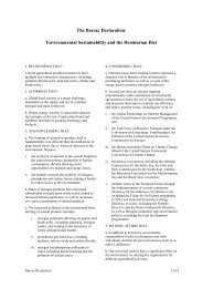 The Barsac Declaration - Food Climate Research Network