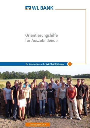 Orientierungshilfe für Auszubildende - WL Bank