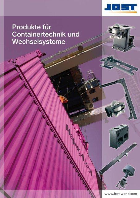 Produkte für Containertechnik und  ... - Jost-Werke GmbH