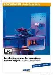 ROCKINGER Aufrüstsätze - Jost-Werke GmbH