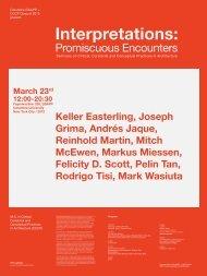 Interpretations - Columbia University Graduate School of ...