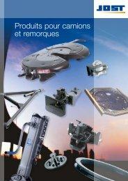 Produits pour camions et remorques - Jost-Werke GmbH