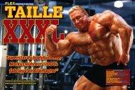 "Superstar du bodybuilding, Markus Rühl est ""100 ... - Ultimate Nutrition"