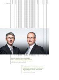 Die LLB-Gruppe - Geschäftsbericht 2010 - Liechtensteinische ...