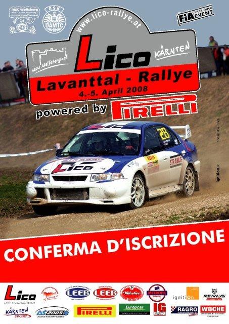 Nennbestatigung Italienisch Bp Ultimate Rallye