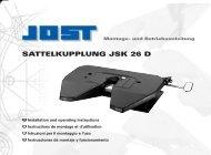 SATTELKUPPLUNG JSK 26 D