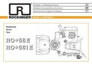 RO 56E/561E - Jost-Werke GmbH