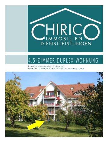 4.5-Zimmer-Duplex-Wohnung Maria-Schürerstrasse 8a, 2540 ...