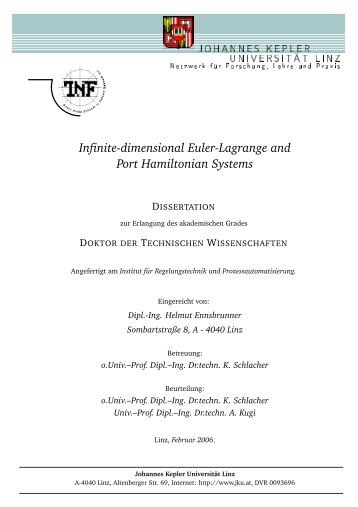 Infinite-dimensional Euler-Lagrange and Port Hamiltonian Systems