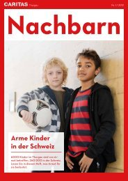 Arme Kinder in der Schweiz - Caritas Thurgau