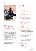 Arme Kinder in der Schweiz - Caritas Thurgau - Seite 2