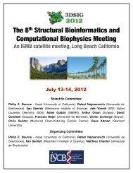 The 8th Structural Bioinformatics and Computational Biophysics ...