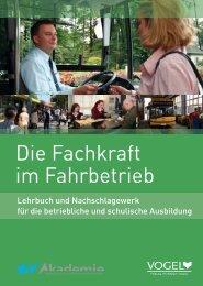 Die Fachkraft im Fahrbetrieb - Verlag Heinrich Vogel