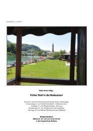 Bürgerinformation Nr. 6 - Juni (1,20 MB) - Mattsee