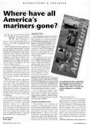 mar|ners gone? - Marine Techniques Publishing