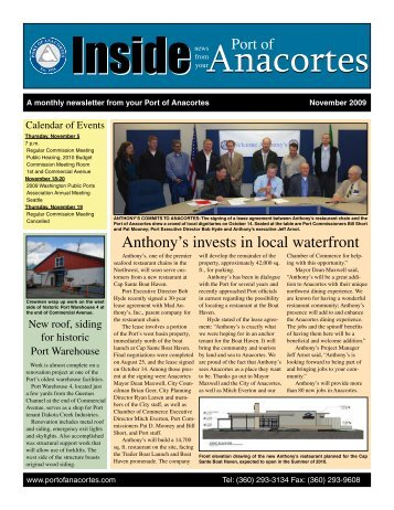 November - Port of Anacortes