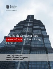 Spanish (Castilian) - Jones Lang LaSalle