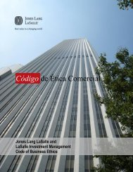 Our Code - Jones Lang LaSalle