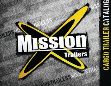 2010 Mission Cargo Catalog - Mission Trailers