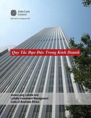Our Code - Jones Lang LaSalle