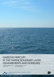 Gaseous Mercury in the Marine Boundary Layer: Measurements