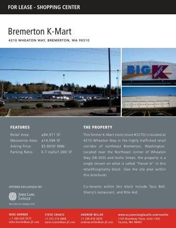 Bremerton K-Mart - Jones Lang LaSalle