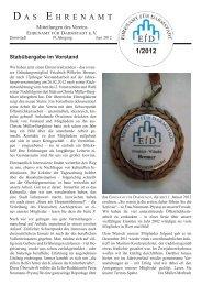 Zeitschrift-1 2012 - Ehrenamt für Darmstadt