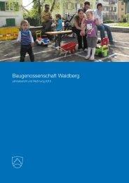 Jahresbericht und Jahres- rechnung 2010 - Baugenossenschaft ...