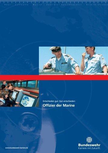 Offizier der Marine