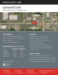 Lynnwood Land - Jones Lang LaSalle