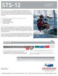 Product Information (pdf file) - New England Ropes