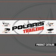 PRODUCT CATALOG - Polaris Trailers
