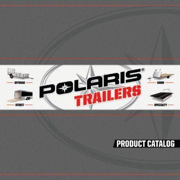 PRODUCT CATALOG - Polaris Trailers