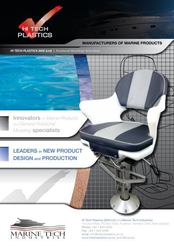 Download our latest product catalogue - Hi Tech Plastics
