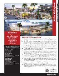 Villa Marina Marketplace.indd - Jones Lang LaSalle