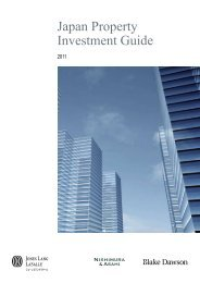 Japan Property Investment Guide - Jones Lang LaSalle