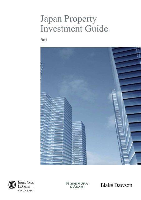 Japan Property Investment Guide - Jones Lang LaSalle