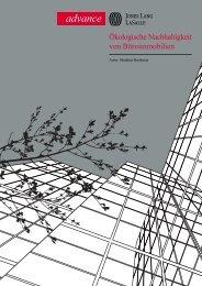 Ökologische Nachhaltigkeit von Büroimmobilien - Jones Lang LaSalle