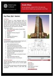 Key Plaza, Şişli - İstanbul - Jones Lang LaSalle