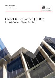 Global Office Index - Jones Lang LaSalle