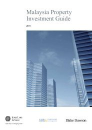 Malaysia Property Investment Guide - Jones Lang LaSalle