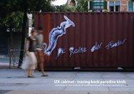 IZK cabinet - tracing back paradise birds