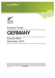 GERMANY - New Zealand Trade and Enterprise