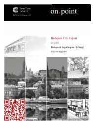 Budapest City Report - Jones Lang LaSalle