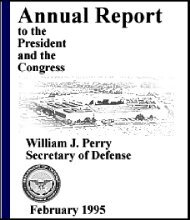 1995 Annual Defense Report Table of Contents - Air Force Magazine