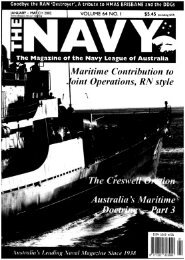 The Navy Vol_64_Part1 2002 - Navy League of Australia
