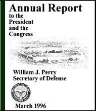 1996 Annual Defense Report Table of Contents - Air Force Magazine