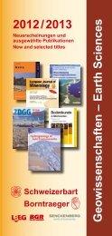 PDF herunterladen - E Schweizerbart Science Publishers