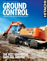 the next generation zaxis has arrived! - Ground Control Magazine
