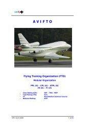 AVIFTO Flying Training Organization (FTO) - Avilu